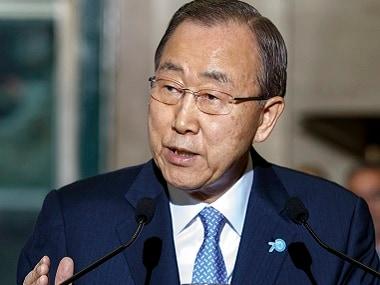 A file photo of Ban Ki-moon. AP