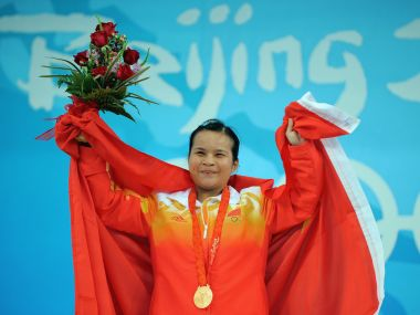 China's Chen Xiexia who won gold medal at the 2008 Beijing Olympic Games has tested positive after samples were re-analysed. AFP