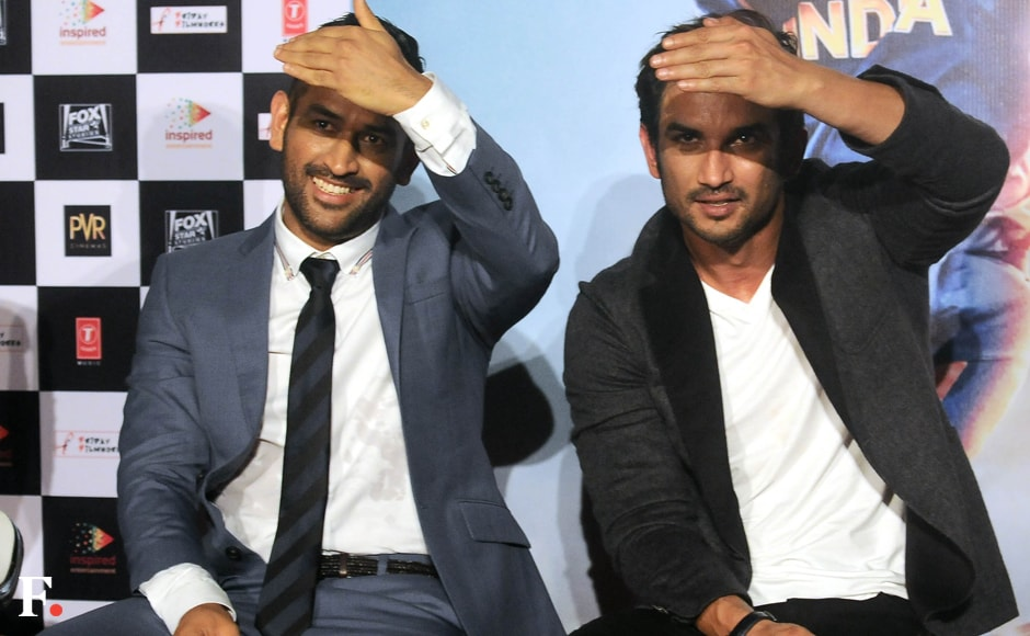 What he does, I do: This seems to be Sushant's mantra about Dhoni. Sachin Gokhale/Firstpost