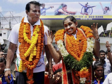 Dipa Karmakar received Rs 15 lakh in prize money after Rio 2016, but only Rs 2 lakh was spent on her training. PTI