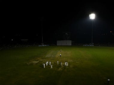 Scenes from Day 1 of the opening game of Duleep Trophy 2016-17 between India Red and India Green. AFP