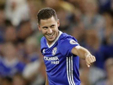 File image of Eden Hazard. AP