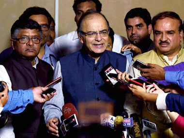 File image of finance minister Arun Jaitley. PTI.