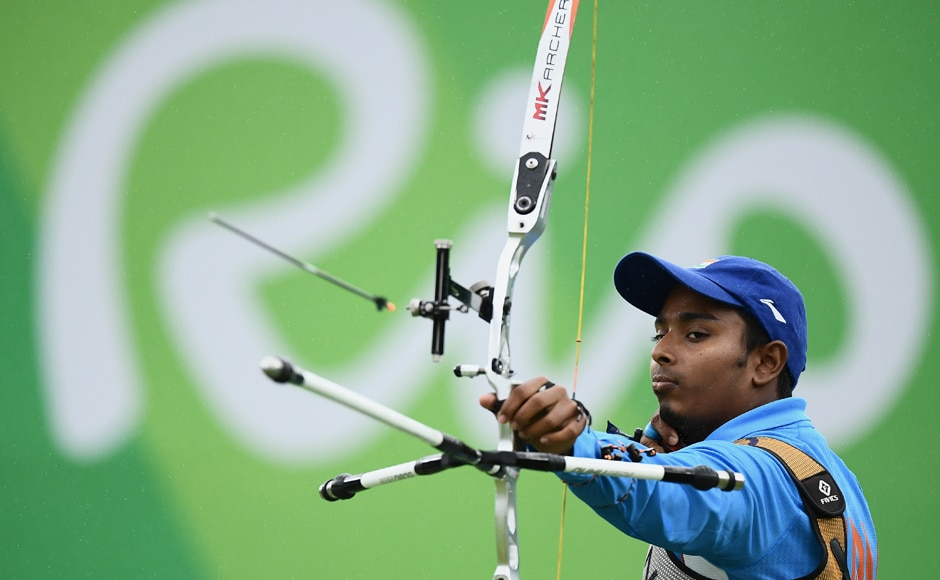 Atanu Das, India's sole archer still in contention, went down fighting in the men's individual quarterfinals to end the country's campaign in the archery events. Getty Images
