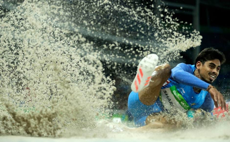 Ankit Sharma finished 12th in Group B with a distance of 7.67 metre of the men's long jump qualifying round and bowed out of Rio Olympics. Getty images