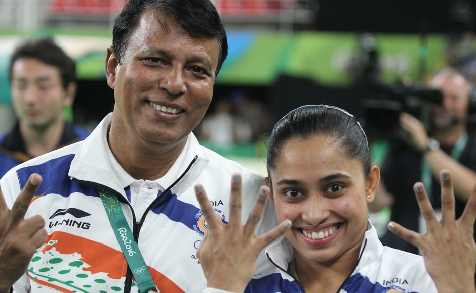 Despite being disappointed at missing out on the medal, Dipa Karmakar asserted that she was determined to train harder and do better at the 2020 Olympics in Tokyo. Image courtesy: Norris Pritam