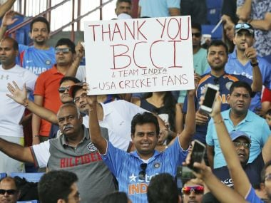 The response to the India vs West Indies T20s in USA has been impressive. AP