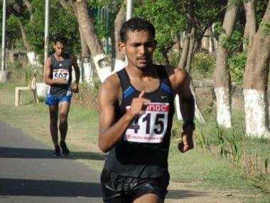 Indian Olympic hopeful Irfan Thodi. Twitter/Pitch Invasion - T20