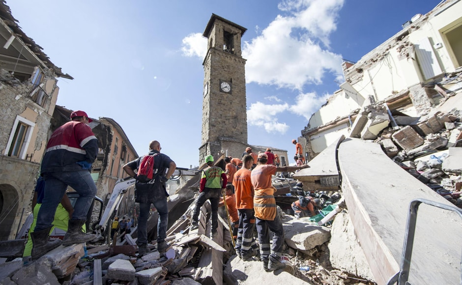 It was Italy's most powerful earthquake since the 2009 disaster in L'Aquila. Most of the deaths occurred in and around the villages of Amatrice, Accumoli and Arquata del Tronto. AP