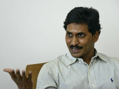 File image of YSR Congress Chief Jaganmohan Reddy. Reuters.