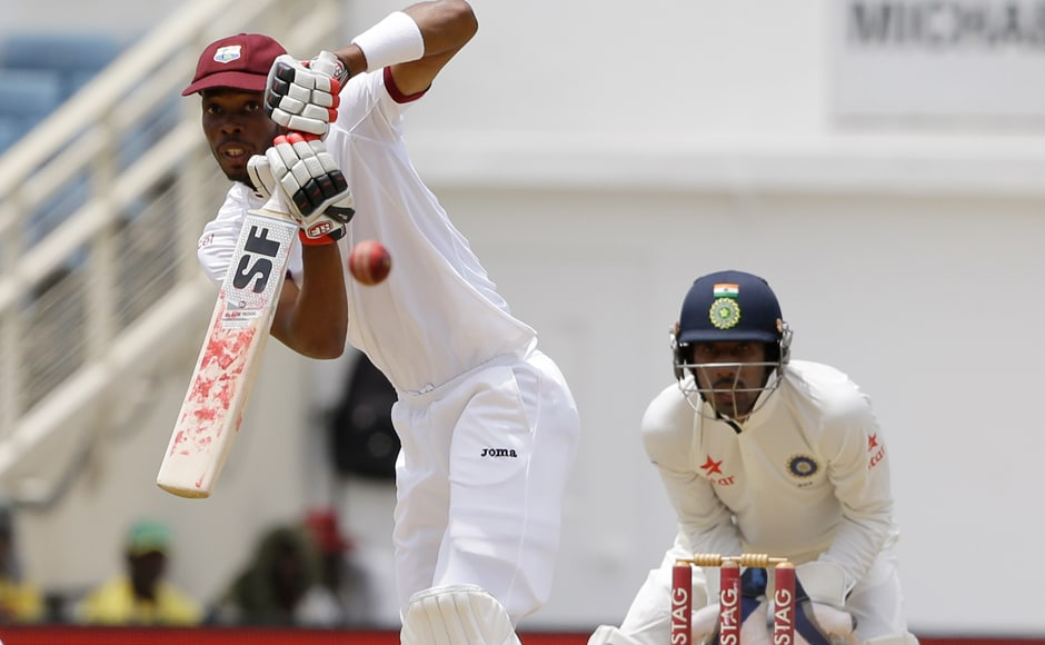 West Indies' Roston Chase was adjudged the well deserved man of the match. AP