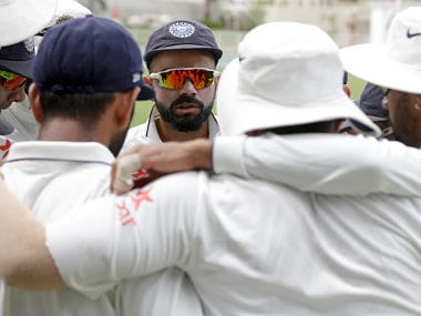 File photo of Indian Team. AP