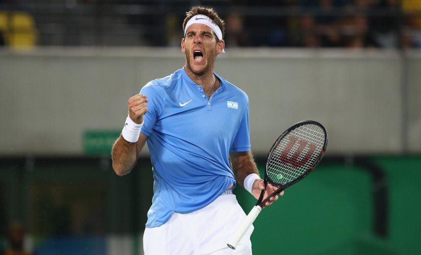 Juan Martin Del Potro is unseeded but his great run in Rio shows that he's a dangerous player to watch out for. Getty