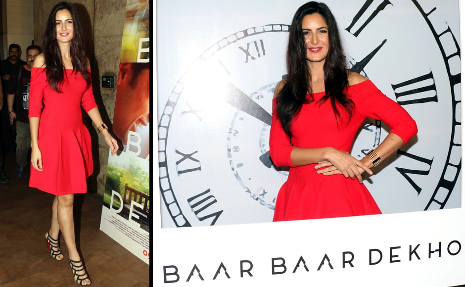 Katrina's obsession with red (remember Fitoor?) is clearly here to stay. Firstpost