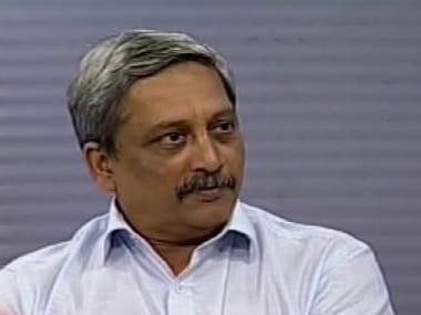 File image of Defence Minister Manohar Parrikar. News18