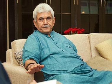 Union Telecommunications Minister Manoj Sinha. Naresh Sharma/Firstpost