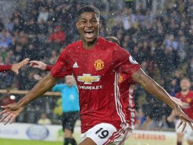 Jose Mourinho has hailed Marcus Rashford's impact on Manchester United this season. AFP