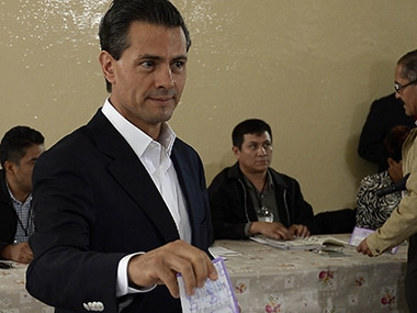 File image of Mexican President Enrique Pena Nieto. AFP