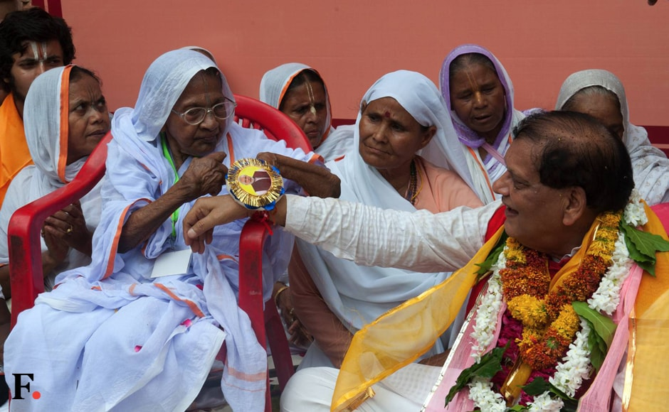 In a bold move to break the age-old traditions, hundreds of widows of Vrindavan and liberated manual scavenger women considered