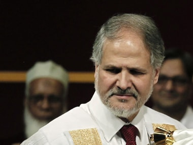 File photo of Najeeb Jung. Reuters