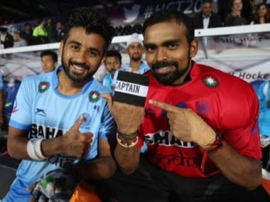 PR Sreejesh returns to India squad. Image courtesy: Twitter/@TheHockeyIndia