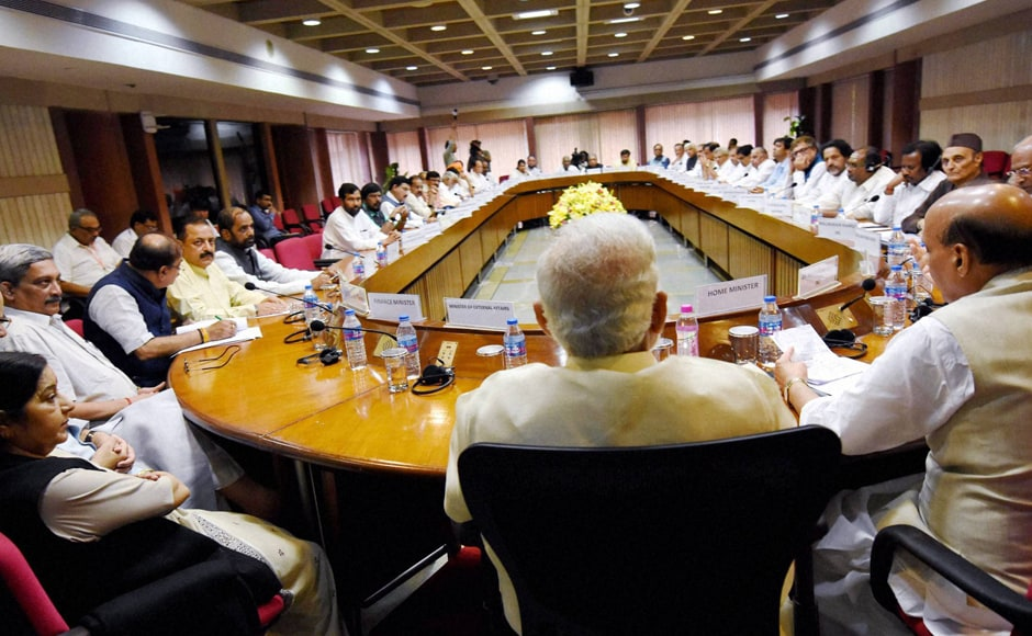 Prime Minister Modipointed out at the all-party meet that the government is following a five-point agenda to address the Kashmir issue which not only targets security concerns but also includes parallel action on comprehensive development to stem discontent among the people. PTI