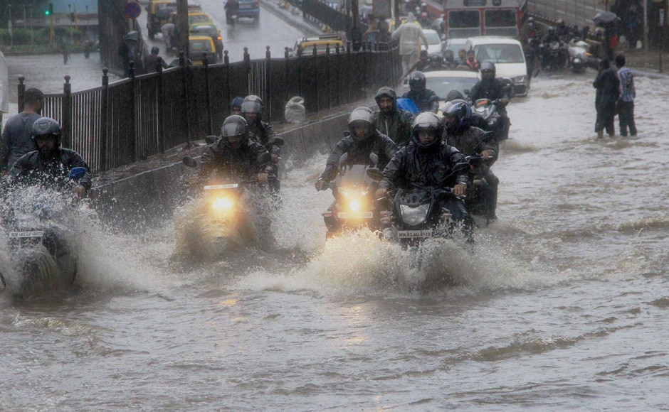 The downpour led to waterlogging in parts of south and central Mumbai, as well as the eastern and western suburbs, leading to major traffic snarls. Vehicles had to wade through flooded streets during peak traffic hours. PTI