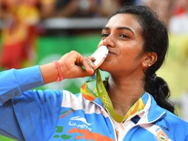 PV Sindhu became first Indian woman to win a  silver medal at Olympics. AFP