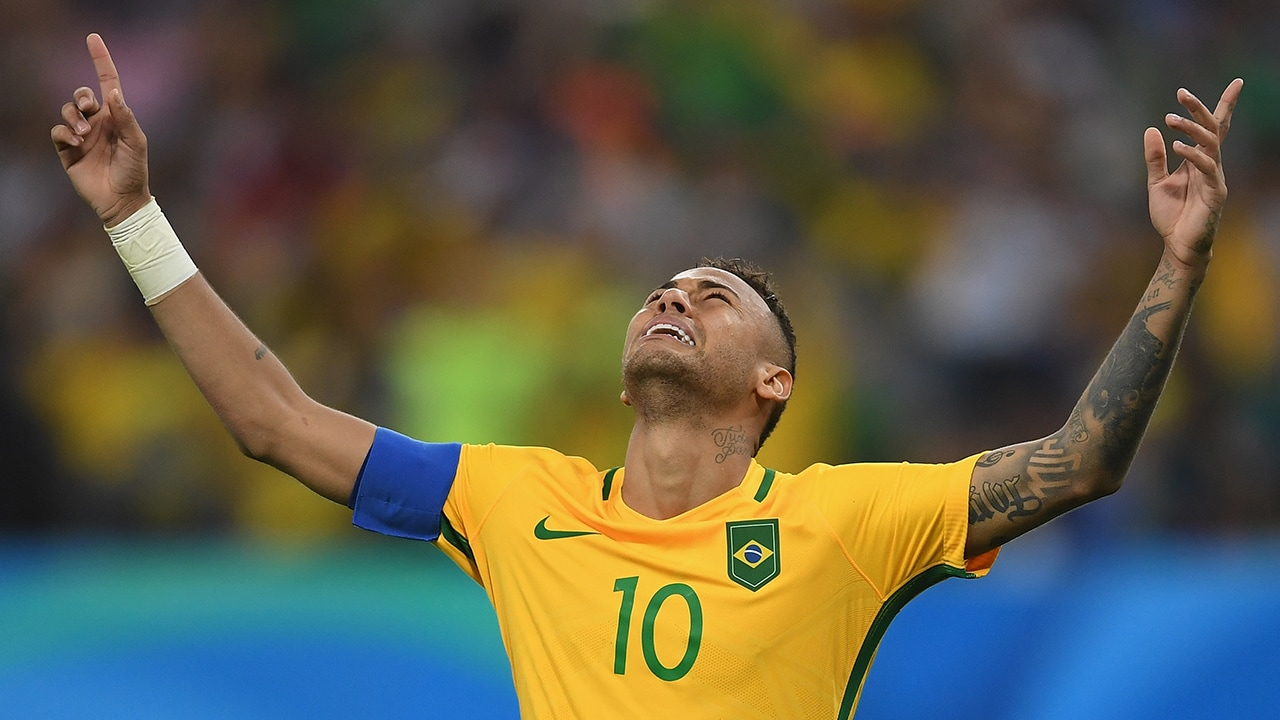Neymar scored the winning penalty against Germany that helped Brazil clinch their first football gold medal at Rio Olympics. Getty Images