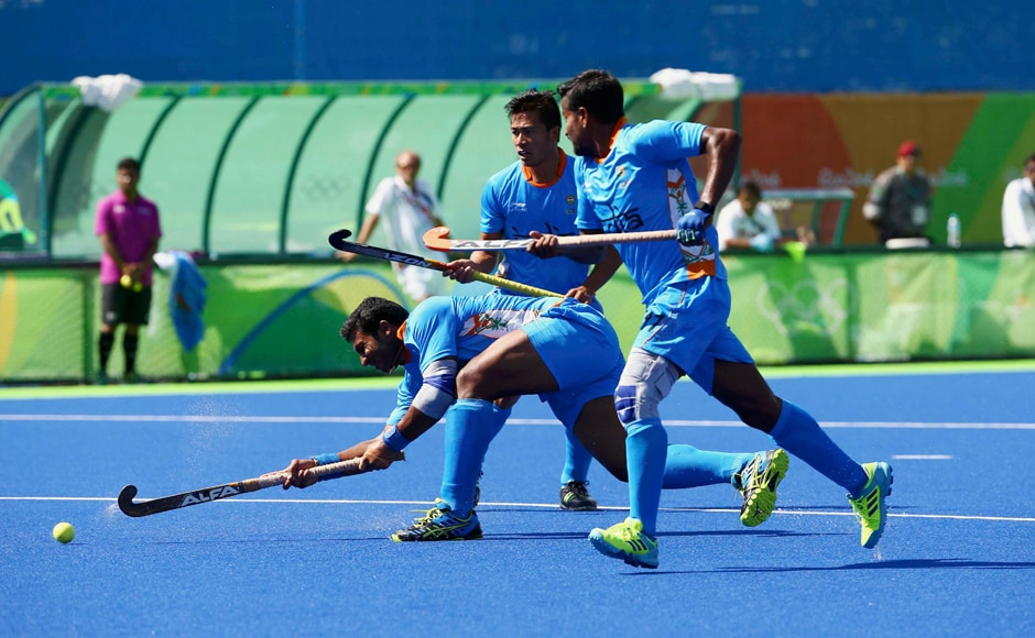Even though India lost their match 2-1 against Netherlands men's hockey team qualified for knock-outs for the first time since Moscow Games in 1980. Reuters