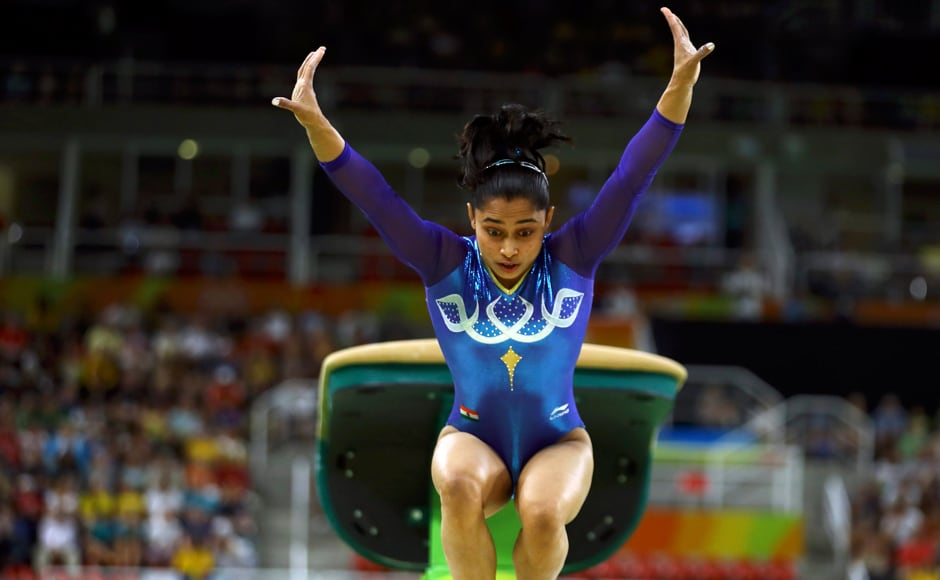 However, Dipa Karmakar created history for India with a creditable fourth place finish in the final, becoming the country's most successful gymnast. Reuters