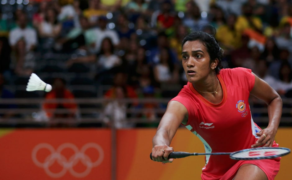 India's PV Sindhu defeated Canadian Michelle Li and qualified for pre-quarters. Reuters