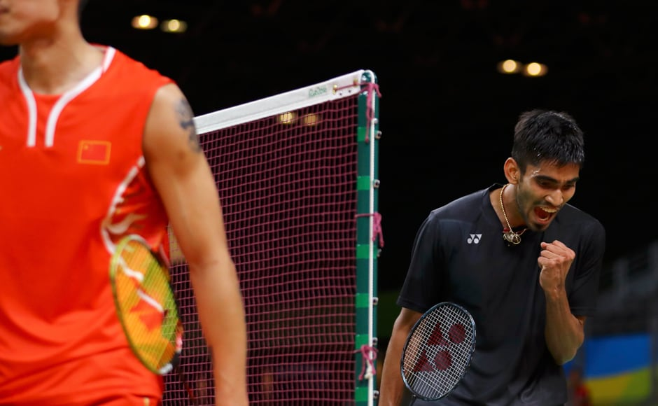 Kidambi Srikanth put up a gritty performance but the the five-time world champion Dan edged World No 11 Srikanth 21-6, 11-21, 21-18. AP