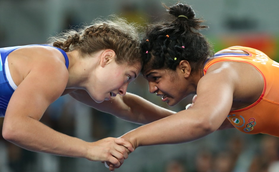 But, Sakshi Malik went down in the Women's Freestyle 58 kg quarter-finals losing 2-9 to Valeriia Koblova of Russia. Reuters