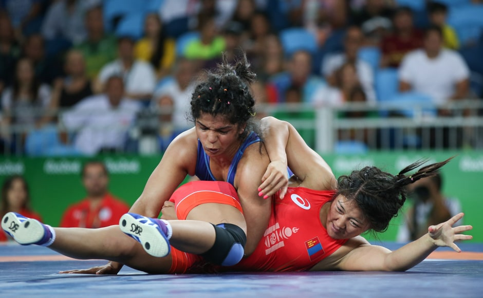 However, Sakshi stormed into the bronze medal play-off round with a dominating performance in her repechage round, where she thrashed Purevdorjiin Orkhon of Mongolia 12-3. Reuters