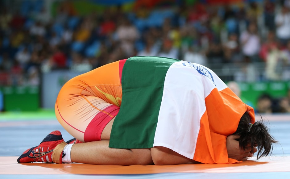 The Rohtak-based Sakshi Malik became only the fourth woman athlete from India to win an Olympic medal as she earned the dramatic win after falling behind 0-5 in the do-or-die bout. Reuters