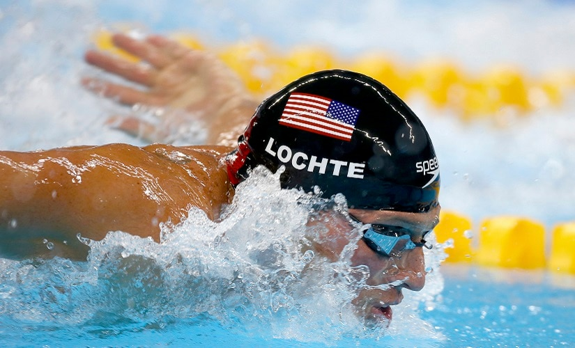 2016 Rio Olympics - Swimming - Semifinal - Men's 200m Individual Medley Semifinals - Olympic Aquatics Stadium - Rio de Janeiro, Brazil - 10/08/2016. Ryan Lochte (USA) of USA competes REUTERS/Michael Dalder/File Photo FOR EDITORIAL USE ONLY. NOT FOR SALE FOR MARKETING OR ADVERTISING CAMPAIGNS