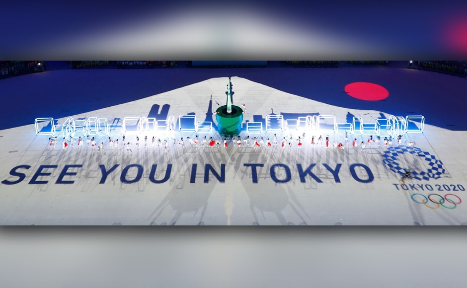 The city handed over the Olympic flag to Tokyo, site of the 2020 Summer Games,. Reuters