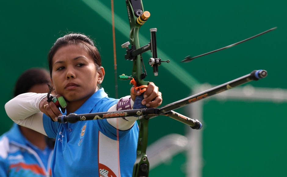 Indian archer Bombayla Devi bowed out of Rio Olympics after she lost 2-6 to World No 18 Alejandra Valencia of Mexico by choking at crucial junctures. AP