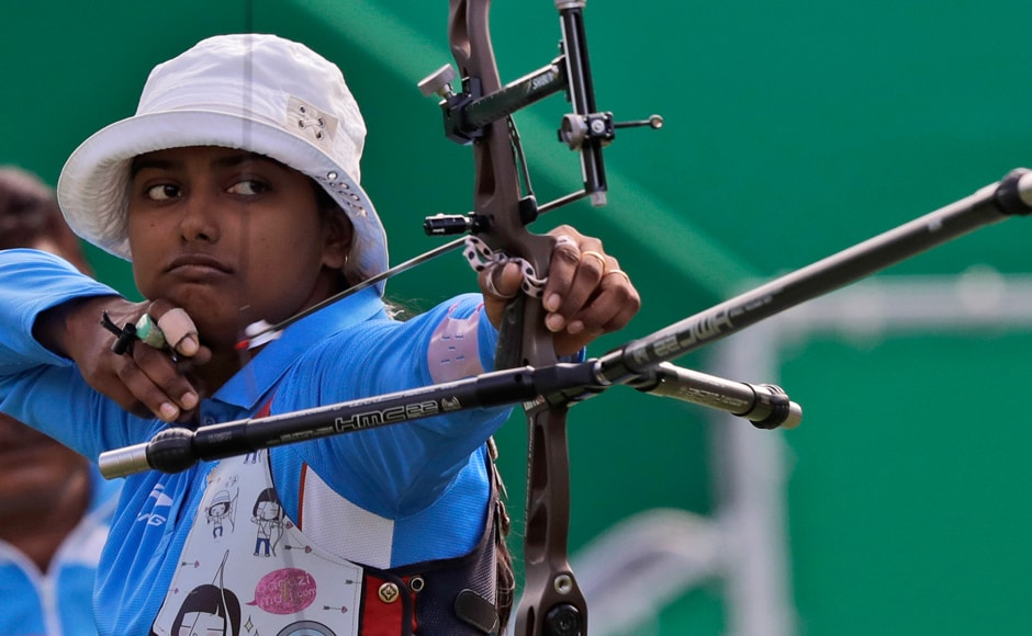 India's archer Deepika Kumari lost in her Round of 16 match 6-0 against World No 2 Tan Ya-Ting of Chinese Taipei. AP