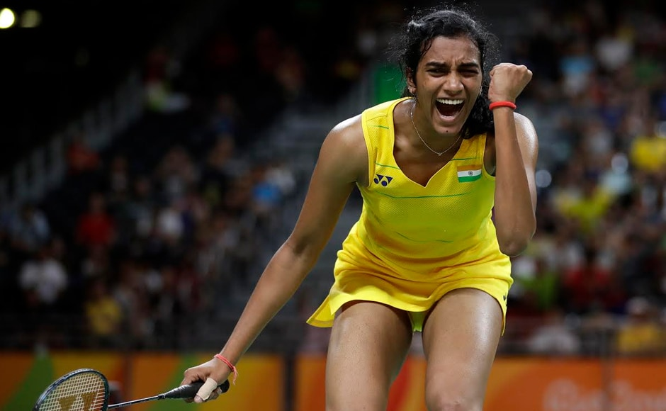 Sindhu notched up a sensational 21-19, 21-10 victory over the All England Champion from Japan in a pulsating semi-final that lasted 49 minutes to assure India of atleast a silver medal at Rio Olympics. AP