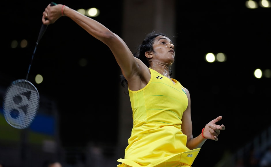 India's PV Sindhu will play Carolina Marin of Spain in the final on Friday. AP