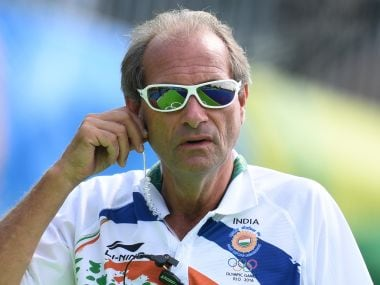 Roelant Oltmans is satisfied with Indian Hockey Team's performance at Rio Olympics 2016. AFP