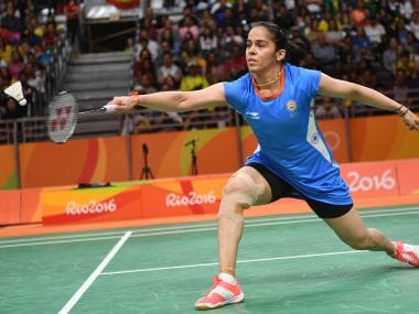 Saina Nehwal bowed out of Rio Olympics after being stunned by a low-ranked Maria Ulitina. AFP