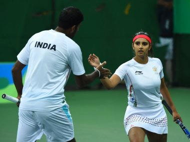 Sania Mirza-Rohan Bopanna Rio 2016 Bronze Medal Match: India lose to Czech Republic