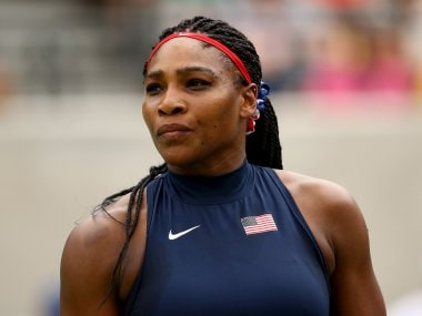 Serena Williams of the United States at the Rio Olympics. Getty