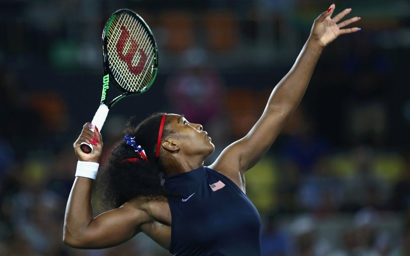Serena Williams is once again looking to create history at the US Open. Getty