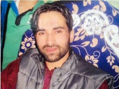 Shabir Ahmad Mungoo. PTI