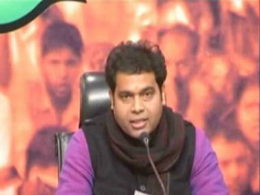 File photo of Shrikant Sharma. YouTube