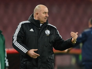 File photo of the newly-appointed coach Stanislav Cherchesov. Getty Images